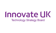 logo for Innovate UK, technology strategy board