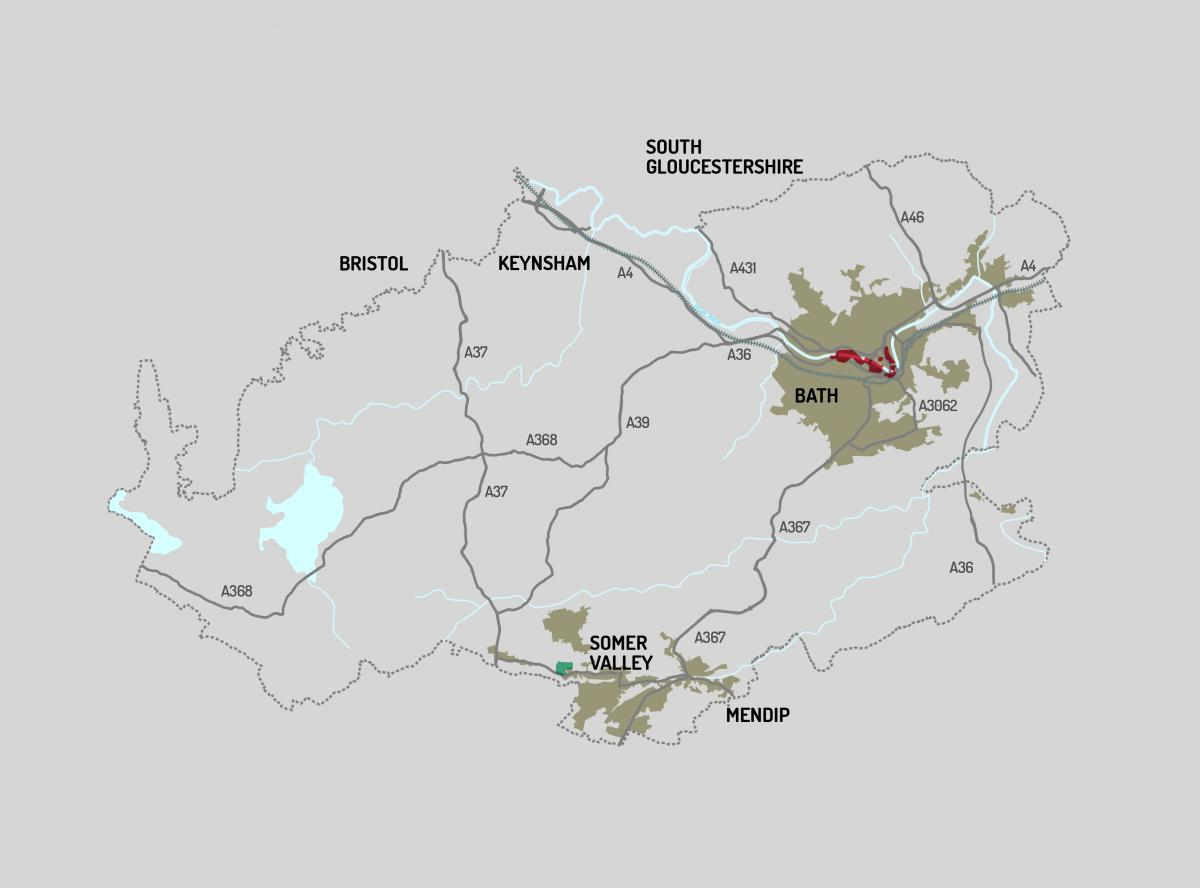 Enterprise Zone areas within Bath and North East Somerset
