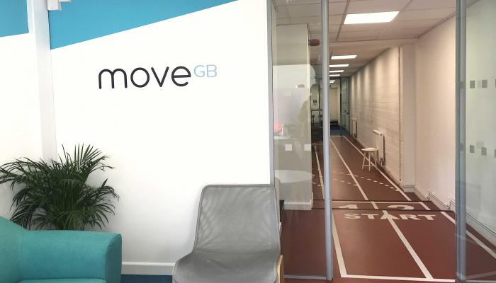 MoveGB reception area