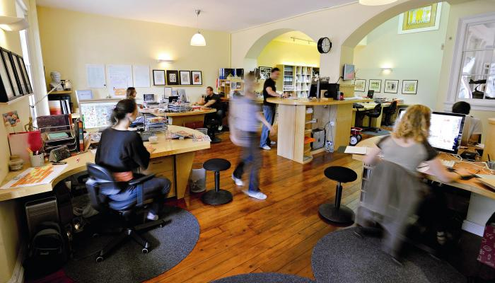 Creative industries office space