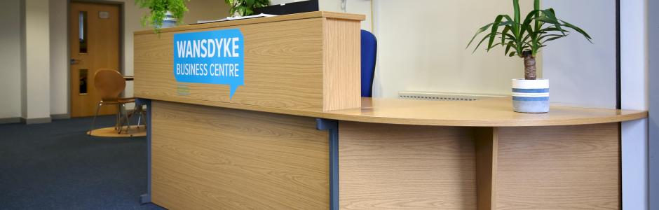 Reception Area at Wansdyke Business Centre